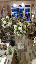 Kvetinová výzdoba MD Green Design, Červeník jednoznačná voľba..... po zlyhaní prvého plánu..nie je o čom :)