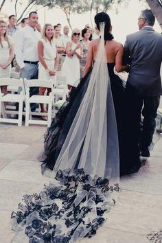 Gothic wedding and Black&white wedding - Obrázok č. 11