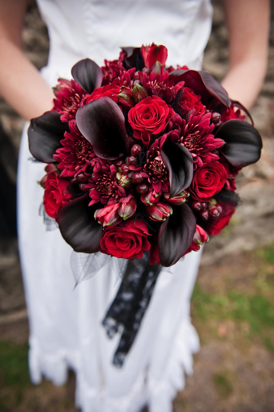 Gothic wedding and Black&white wedding - Obrázok č. 50