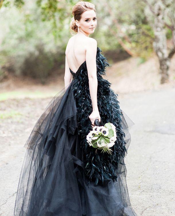 Gothic wedding and Black&white wedding - Obrázok č. 12