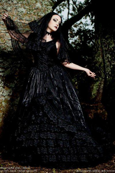 Gothic wedding and Black&white wedding - Obrázok č. 6