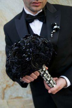 Gothic wedding and Black&white wedding - Obrázok č. 34