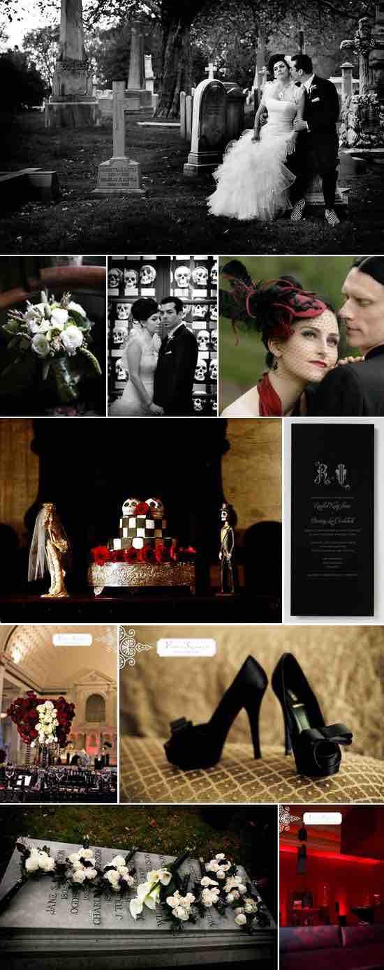 Gothic wedding and Black&white wedding - Obrázok č. 96