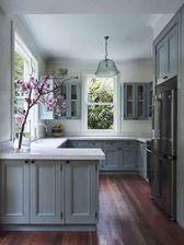 priestorovo ako naša budúca kuchyňa - pekný odtieň a štýl podlahy