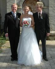 S tátou a bráškou