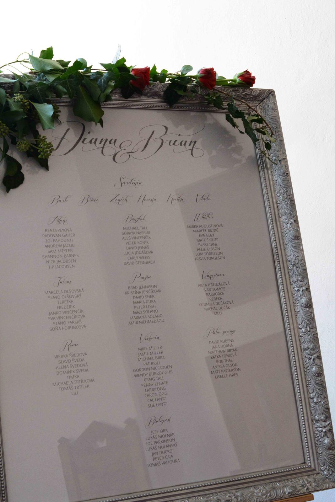 Diana & Brian ... na zámku ♥♥♥ - Obrázok č. 13