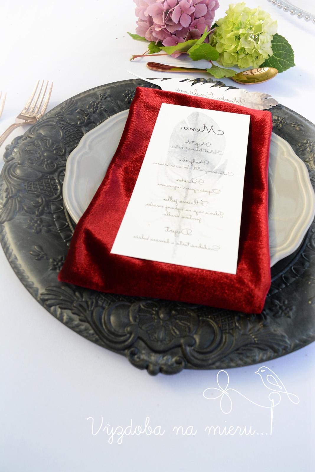 Klubový tanier Black - Obrázok č. 4