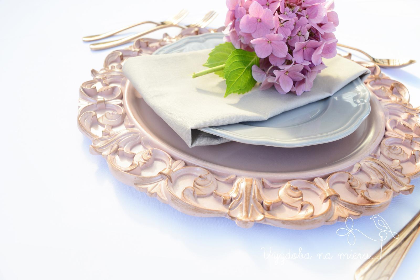 Klubový tanier vintage - Obrázok č. 3