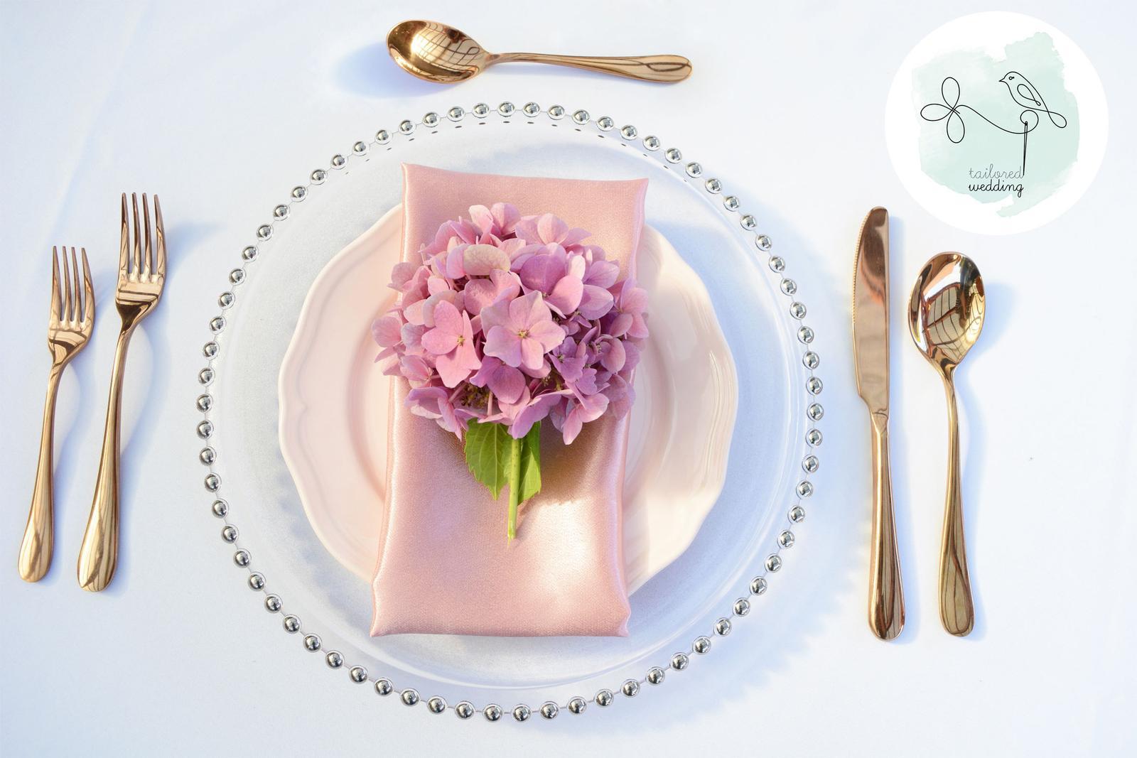 Klubové taniere s perlovým okrajom - Obrázok č. 1