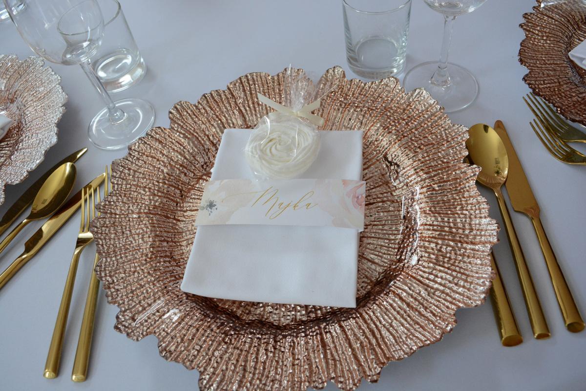 Klubové taniere Rose gold - Obrázok č. 4