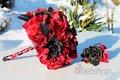 Svatební kytice Gothic,