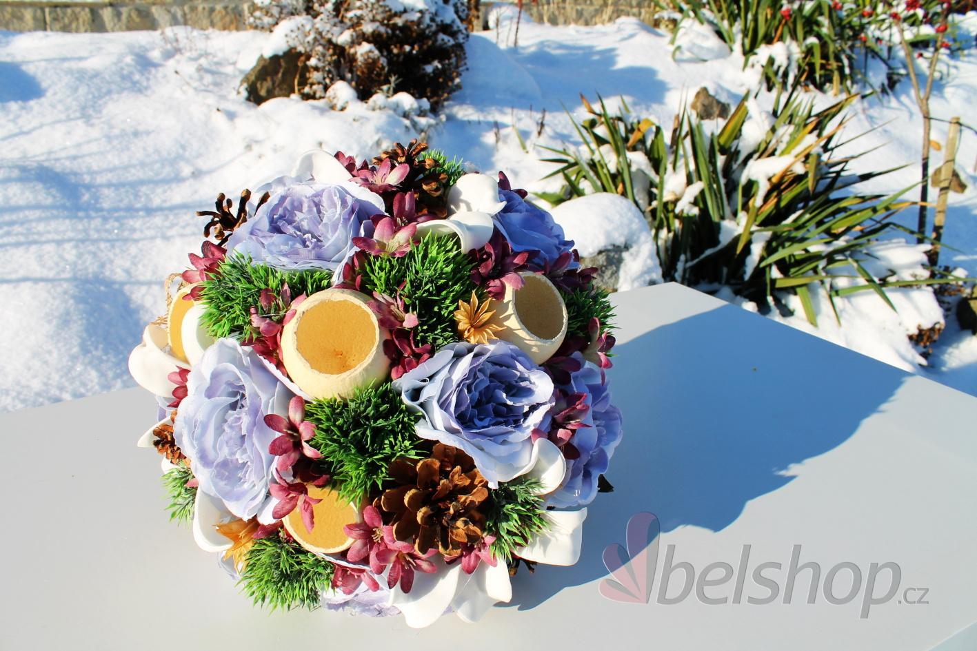 Svatební kytice Rustic styl - Obrázek č. 1