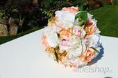 Svatební kytice na přání vč. korsáže,