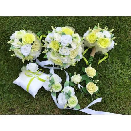 Velký svatební set kytic - Obrázek č. 1