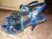 Modré sandále, 36