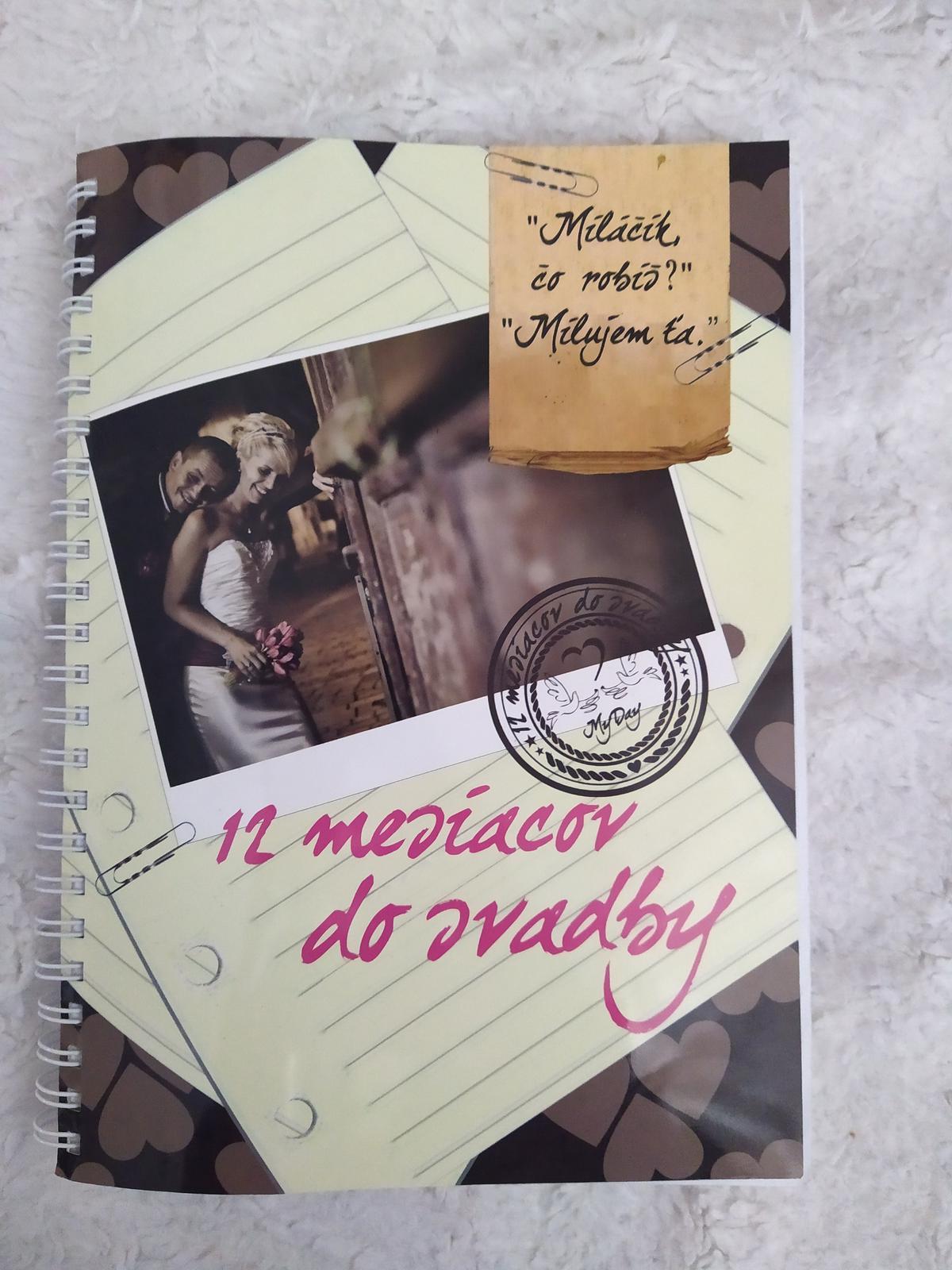 Kniha 12 mesiacov do svadby - Obrázok č. 1