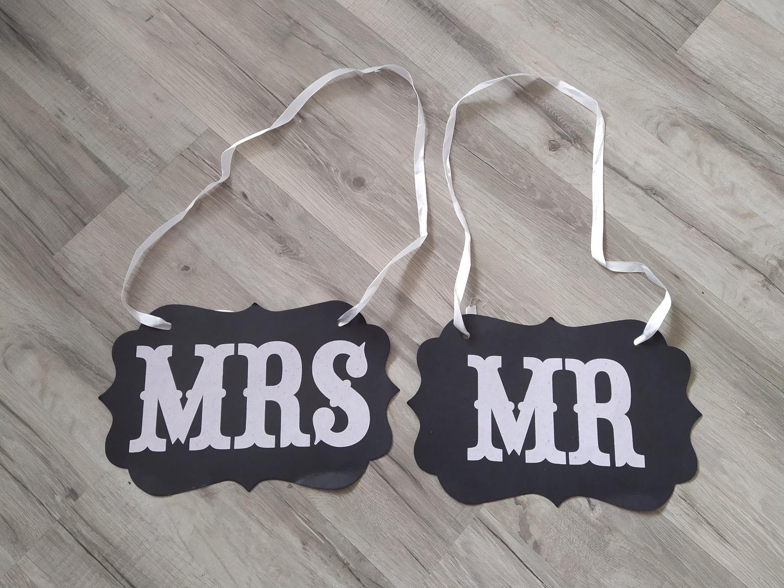 Tabuľky Mr. a Mrs. - Obrázok č. 1