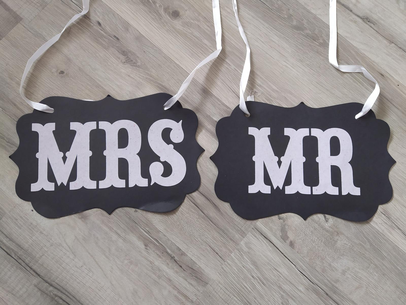 Tabuľky Mr. a Mrs. - Obrázok č. 2