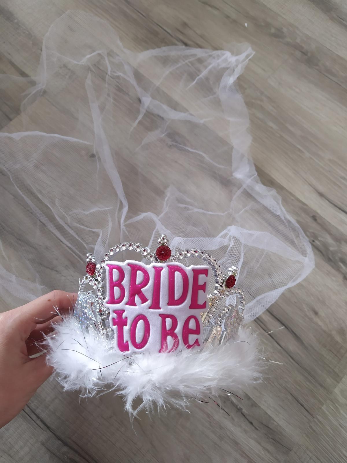 Korunka so závojom Bride To Be - Obrázok č. 1