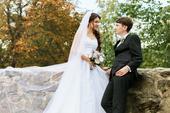 Krajkové svatební šaty vel. 34-36, 36