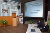 Zajištění projektoru a plátna 4x3m ve dnech 26. a 27. února 2015 v Léčebných lázních Bohdaneč na VI. lékařské konferenci Multidisciplinárního pojetí kineziologie