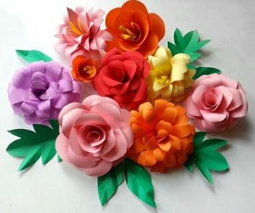 Papiere na papierove kvety - Obrázok č. 3