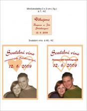 naše svatební etikety na víno