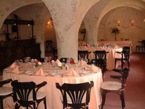 zámecká restaurace zámku Častolovice