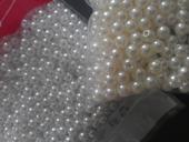 Koralky, perly, perlicky, priemer 6 mm,