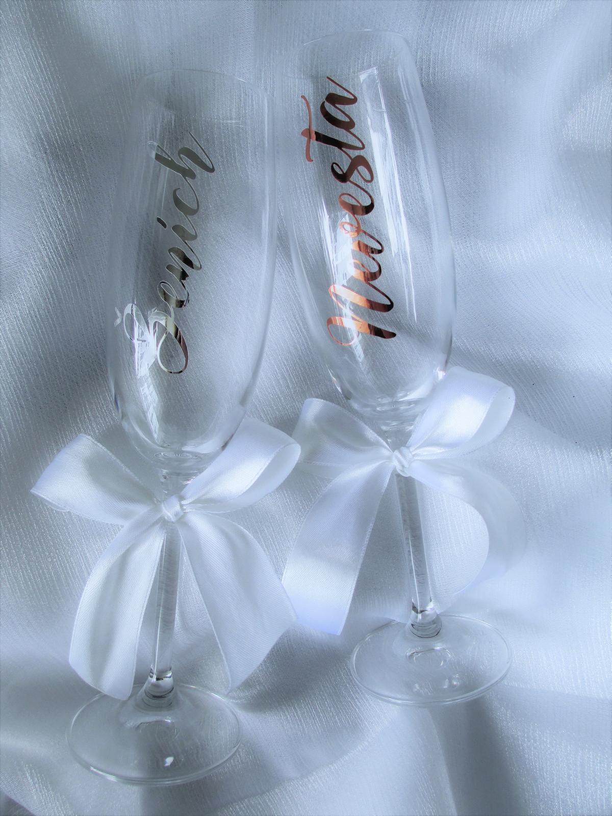 Svadobné poháre - Obrázok č. 33