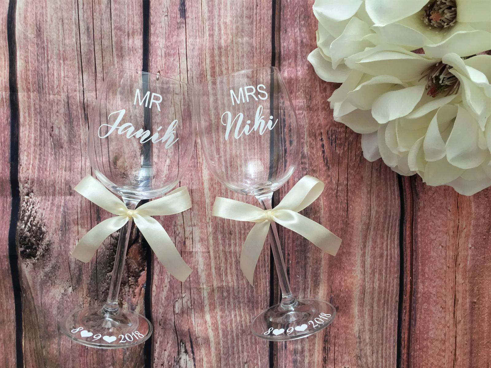 Svadobné poháre - Obrázok č. 55