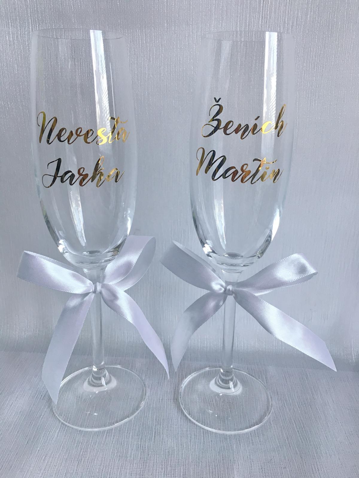 Svadobné poháre - Obrázok č. 40