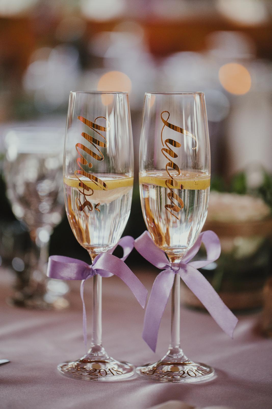 Svadobné poháre - Obrázok č. 94