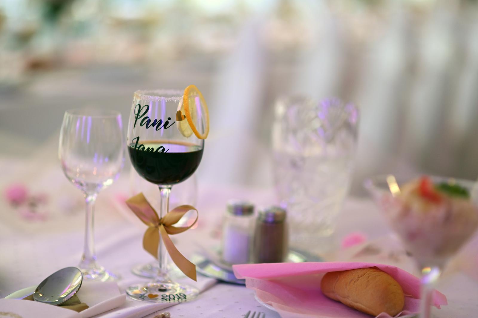 Svadobné poháre - Obrázok č. 96