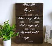 Svadobná tabuľa- Prenájom,