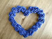 Srdce na auto - Kráľovská modrá,