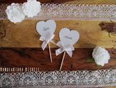 Menovka pre svadobných hostí Heart  Klasic,