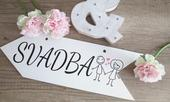 Svadobná tabuľka Svadba 4,