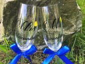 Svadobné poháre MR & MRS 1,
