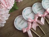 Zápich do koláčov Pink&Tyrkys,