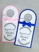 Príprava nevesty a ženícha Pink&Royal Blue,