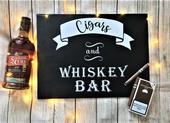 Cigar & whisky BAR,