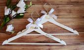 Vešiaky pre nevestu a ženícha Luxus,