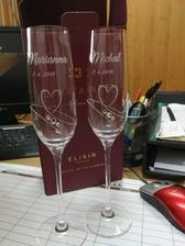 Svadobné poháre ❤