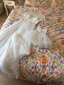 Boho - vintage svatební šaty, 38