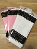 Hedvábný papír-růžový a bílý ,