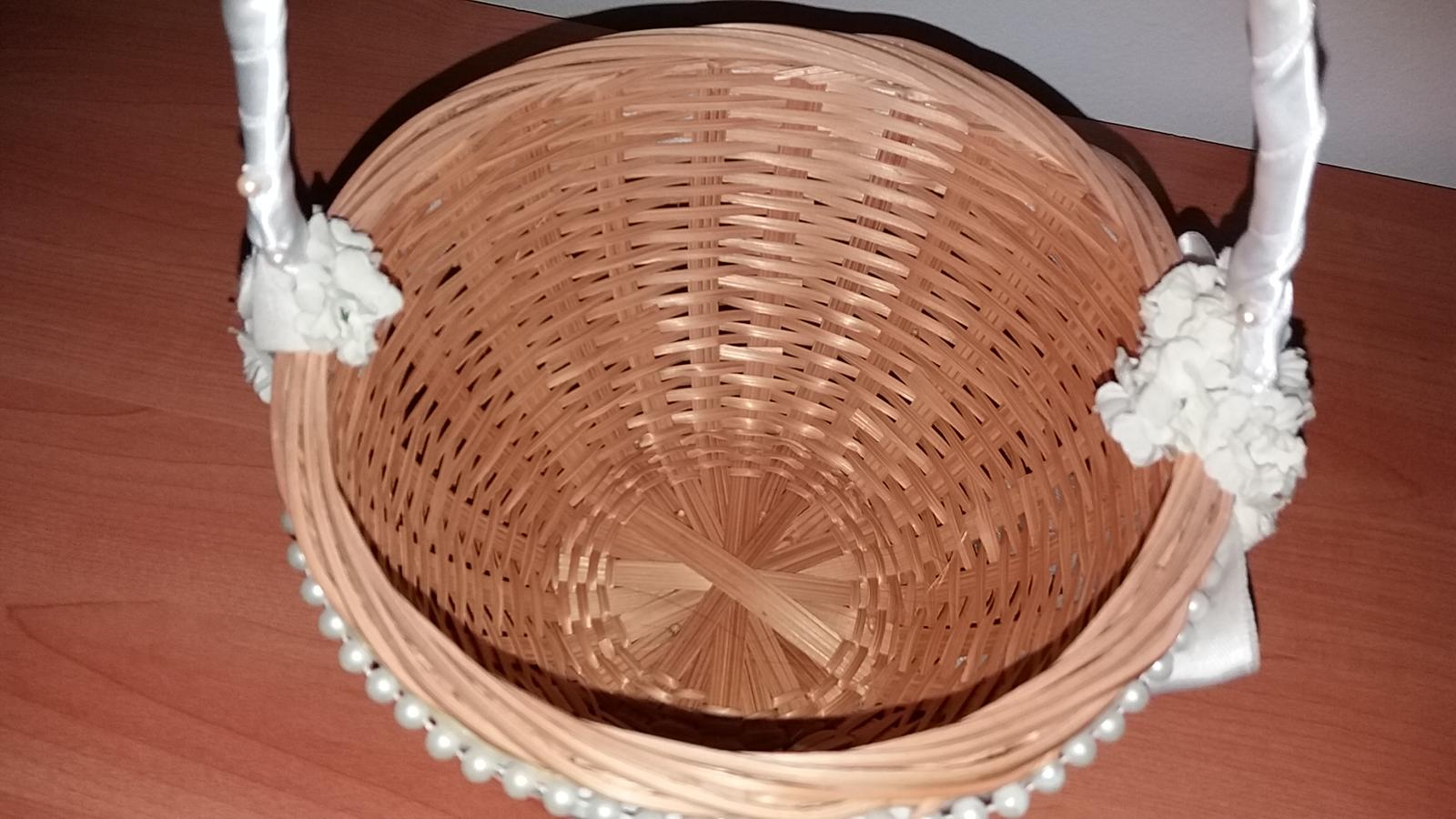 Košík pre družičku - Obrázok č. 4