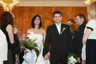 ...a odcházíme jako manželé