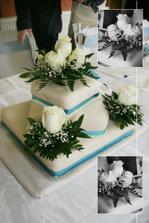 náš nádherný hlavní dort