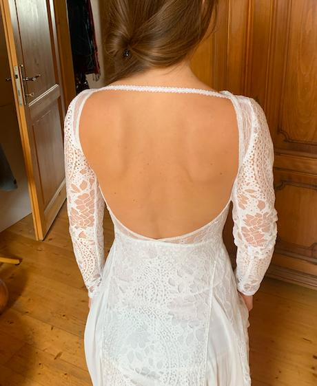 Boho krajkové svatební šaty - Obrázek č. 1